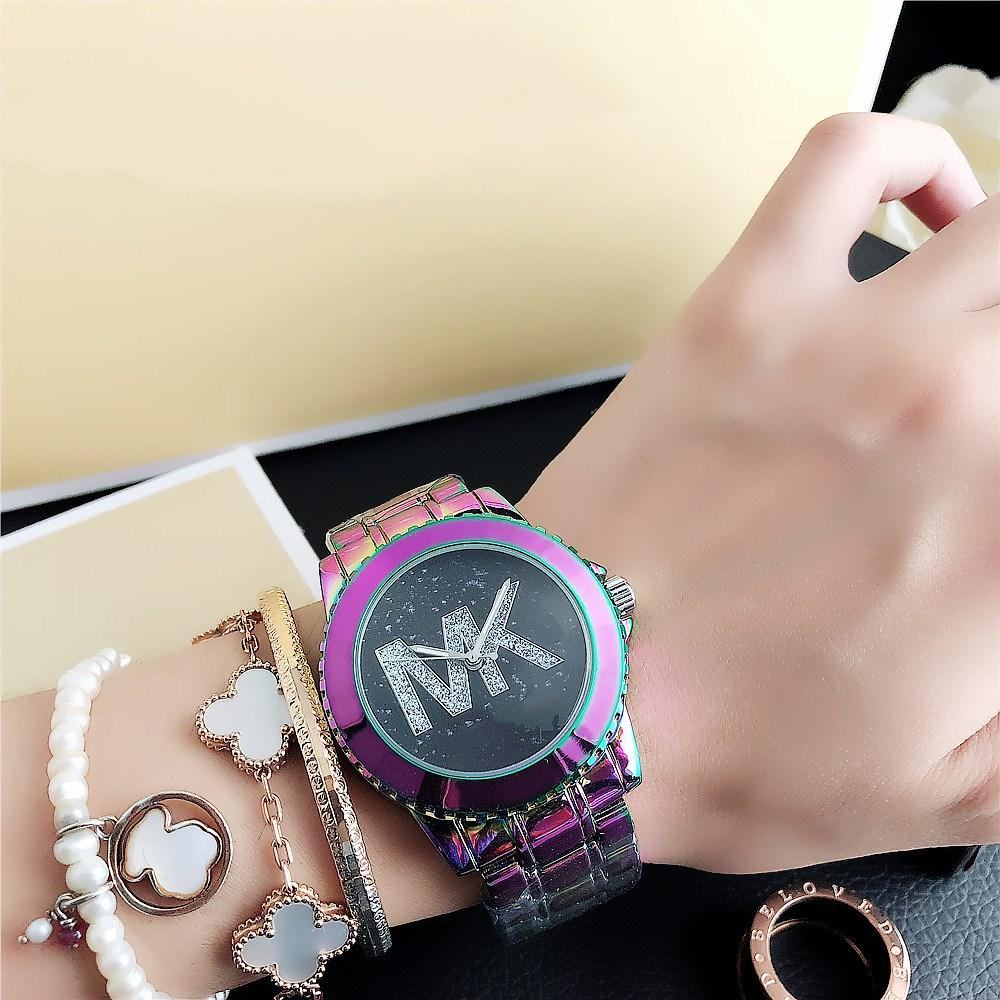20 ArtRhinestonemk Armbanduhr Luxus-Armband-Uhren Luxus-Designer-rosa Kleid Diamant-Uhr-Frauen Gold Quarz c 4U2U # stiegen