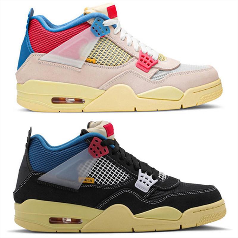 Union La X 4S Jumpman 4 donna scarpe da basket rosa da donna uomini formatori cestini sportivi sneakers des chaussures zapatos
