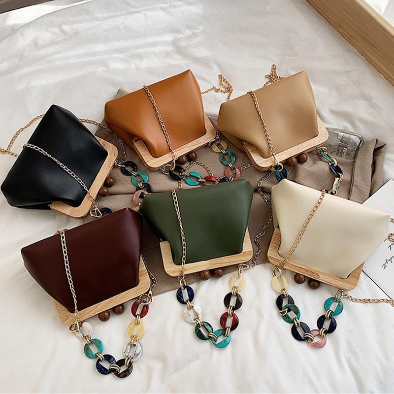 Дамы ручной женщины сцепление кошелек свадьба сумка дизайн сумка кожаная роскошь акриловая партия ручка с PU плечо uagvg