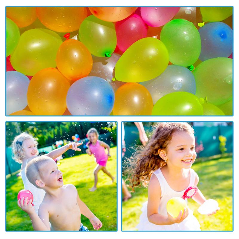 A case of 22200 Funny Water Balloons Toys Magic Summer Beach Party Outdoor Filling Water Balloon Bombs Toy For Kids Adult Children