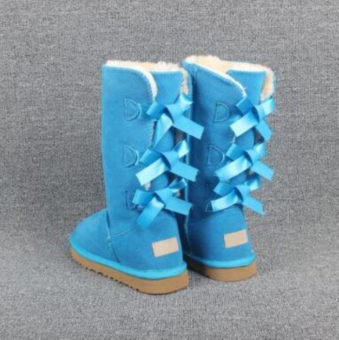 DORP ENVÍO 2020 NUEVO nieve de las mujeres botas de cuero de vaca 100% del tobillo cargadores calientes zapatos de mujer botas de invierno de gran tamaño 4-10 U239