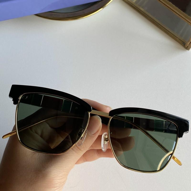 تصميم العلامة التجارية الجديدة النظارات الشمسية، أزياء فاخرة ايطاليا المستوردة لوحة النقي مصمم النظارات الشمسية ذات جودة عالية 6 أنواع من GG0599 اختيار التجميع