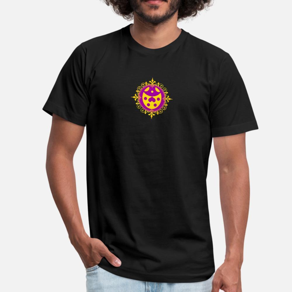 la experiencia de oro mariquita hombres de la camiseta personalizada camiseta de cuello redondo de ropa camisa de la luz del sol del verano del estilo único divertido