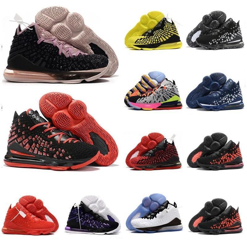 2020 nova lebron 17 xvii baixo sintonia esquadrão james venda quentes lebron camisa de basquete com a caixa 17s melhores sapatos chaussures homens de basquete enviar k9jz #