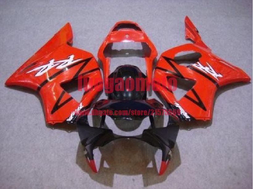 kit carenagem injeção para HONDA 2000 2001 CBR929RR CBR900RR 929 00 01 CBR900RR RED carenagens preto carroçaria capotas presentes peças +