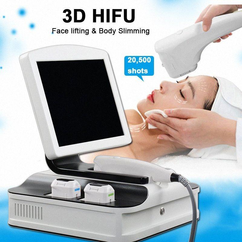 3D-High Intensity Focused Ultrasound 2D HIFU Hautstraffung Maschine Fettreduktion Form 3D-HIFU-Maschine mit 10.000 Shots Ultraschall P iFi4 #