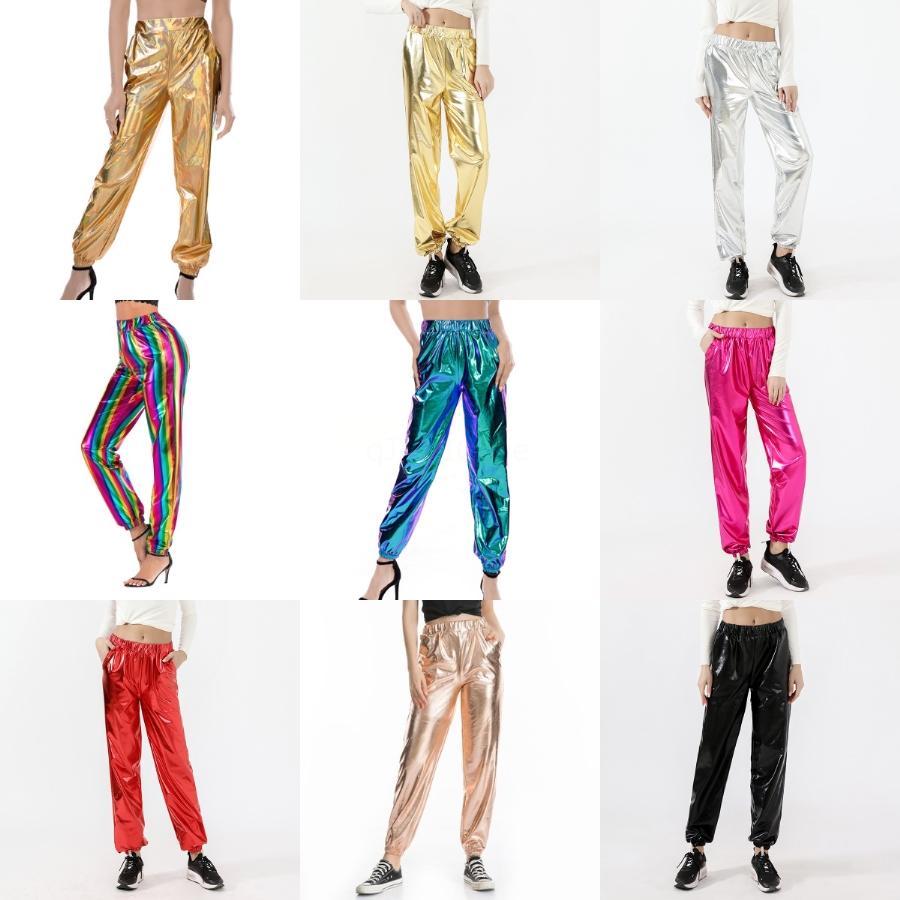 2020 Autumn Puimentiua Women Cargo Pants Sexy Ladies Casual Harem Tactical Pant Women Military Clothing Multi-Pocket Joggers Sweat Pants#721