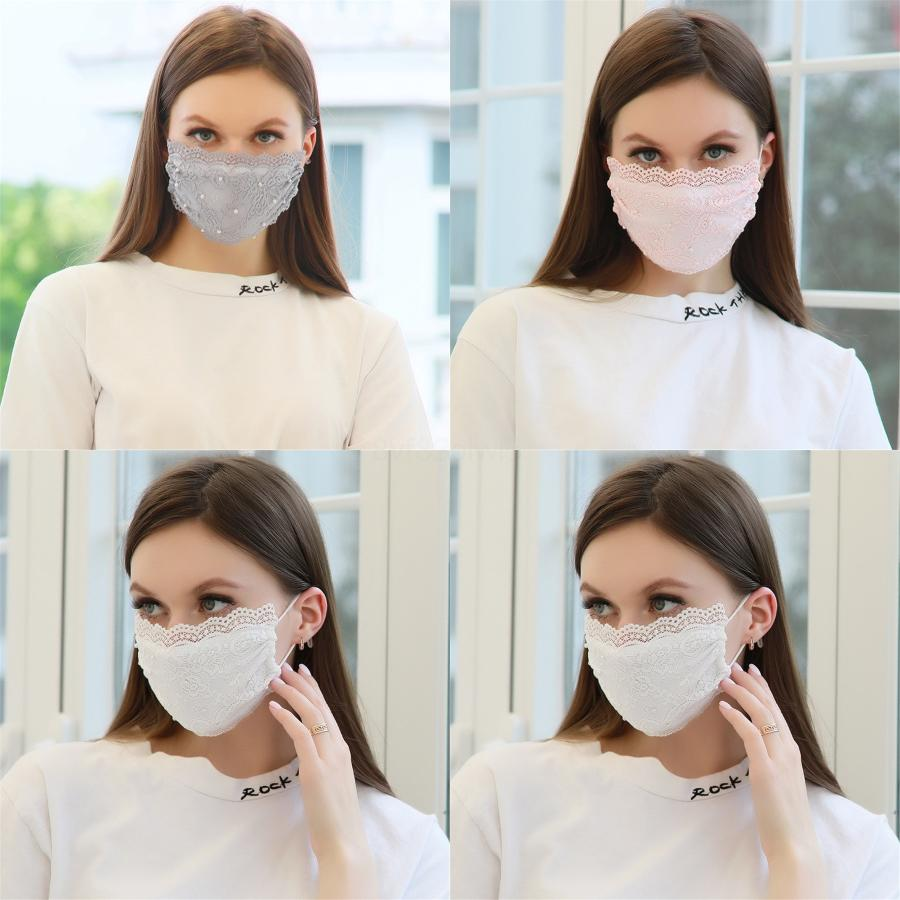 Masque Designer Imprimé Masques bouche 1pcs non tissé étanche 1 poussière souple respirante # 103