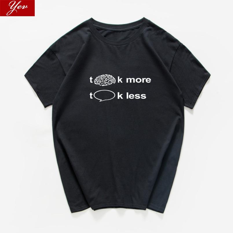 Pense o t-shirt mais conversa dos homens menos engraçado The Big Bang Theory algodão camiseta homens do totó streetwear legal top Harajuku Vestuário