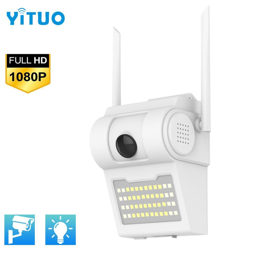 1080 P WIFI PTZ Güvenlik Kamera Açık Hareket Sensörü Kablosuz 48 LED Işık IR Ses Bahçesi CCTV Avlu Monitorard