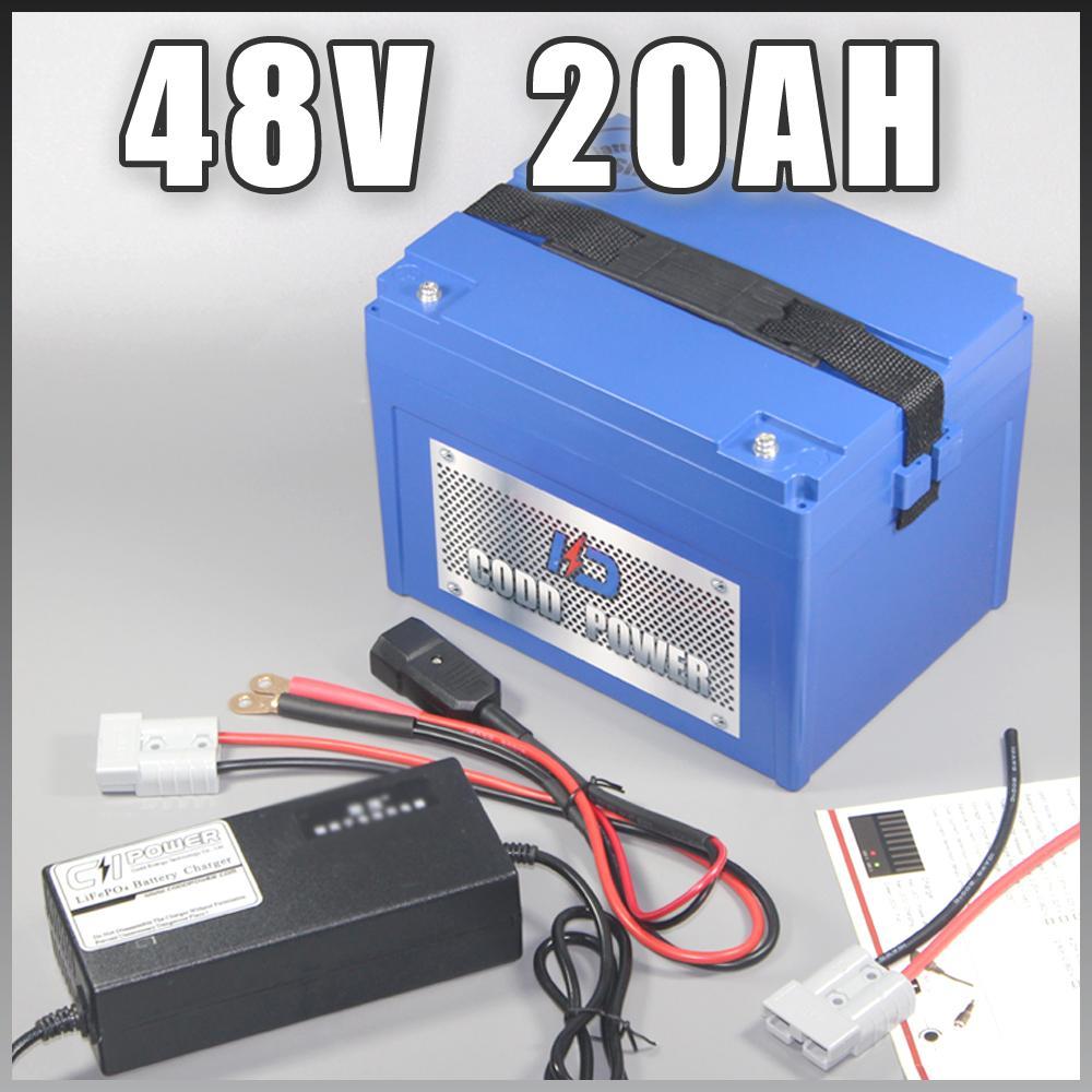 48V 20AH vélo électrique au lithium ion pour 500W 1000W 1800W 2000W Ebike moteur