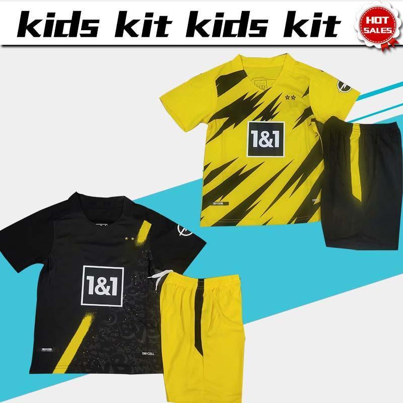 2020 Kids Kit Dort Soccer Jersey 9 Haaland 11 Reus 20 21 Child Home Soccer Shirt 10 Hazard 19 Brandt Boys Football Shirt Customized From Jerseybaseball001 15 85 Dhgate Com