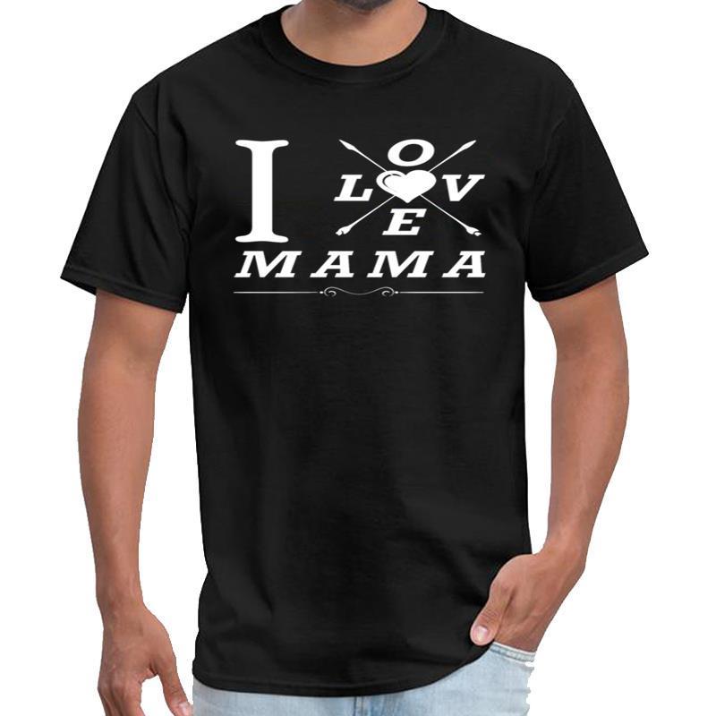 Fashion I amore MAMA epoca Abbigliamento Uomi uomini e donne maglietta più dimensioni s-5XL normale