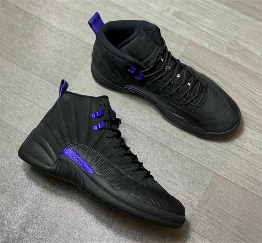 black and purple 12s