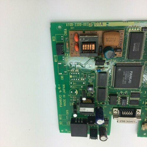1PC Fanuc A16B-3300-0033 PCB Board Испытано В хорошем состоянии