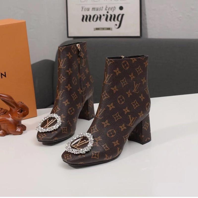 2019P nuevas damas botines de cuero ocasional de las señoras de lujo viajan zapatos del partido de los deportes, caja de embalaje original entrega rápida
