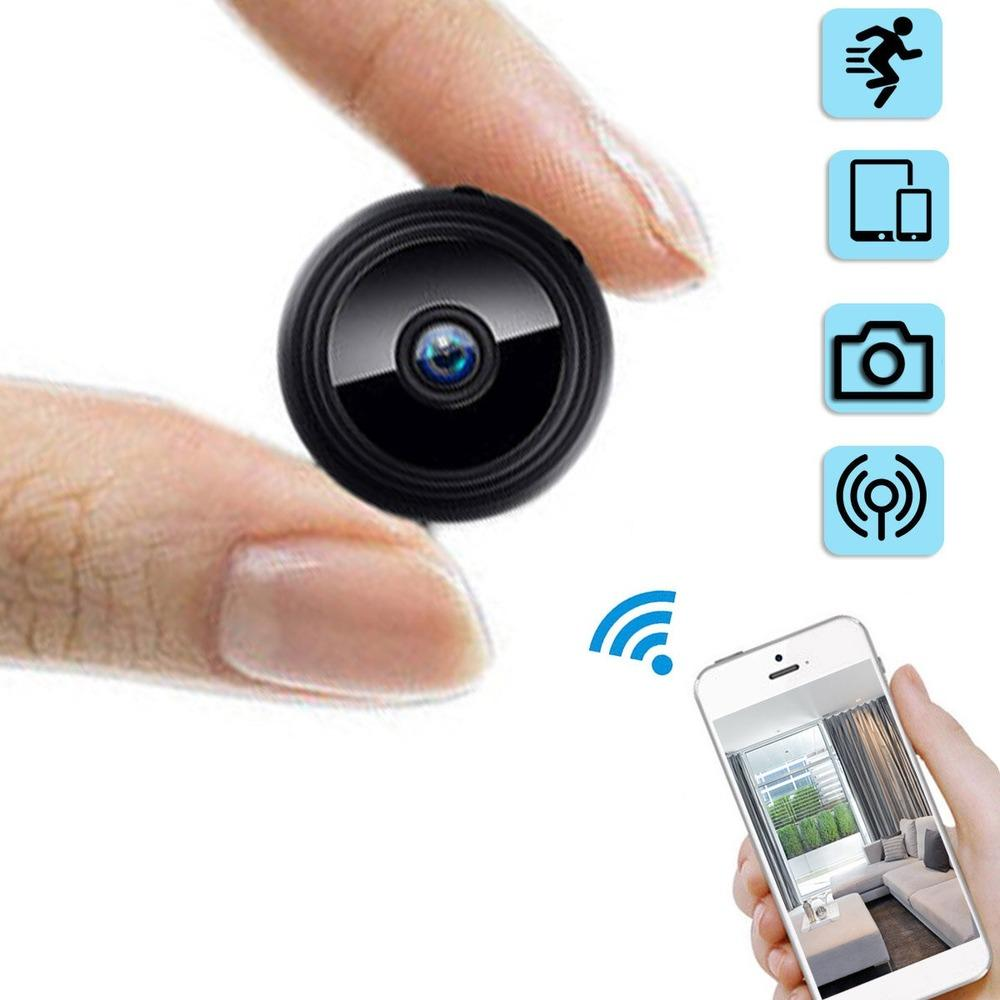 1080P HD Mini Wireless Camera Hidden Camcorder WIFI Outdoor Hunting Home Security DVR