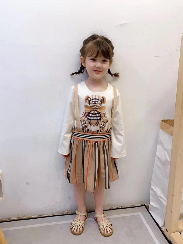 Meninas Marca Vestido de alta qualidade roupa do bebê menina um linha Girls Dress Princess Dress Vestidos frete grátis
