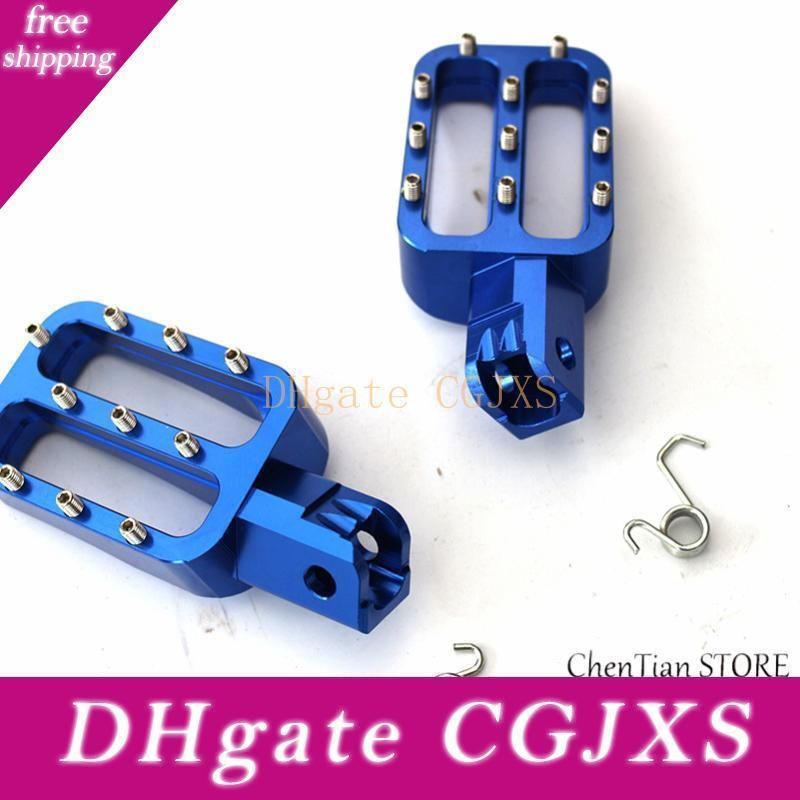 2020 Motorcycle Footrests Cnc Aluminum Rear Wide Foot Pegs Pedals Rests Mx For 250sx Exc 300 400 450 Sx F Smr 540 Sx50 65 85 D49 From Xmjdimskk 45 9 Dhgate Com