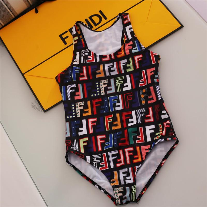 الجديد الأكثر مبيعا الراقية واحد من قطعة والسباحة طفل الفتيات حللا كلاسيكي شعرية ملابس السباحة ملابس السباحة فتاة الاطفال ملابس الشاطئ