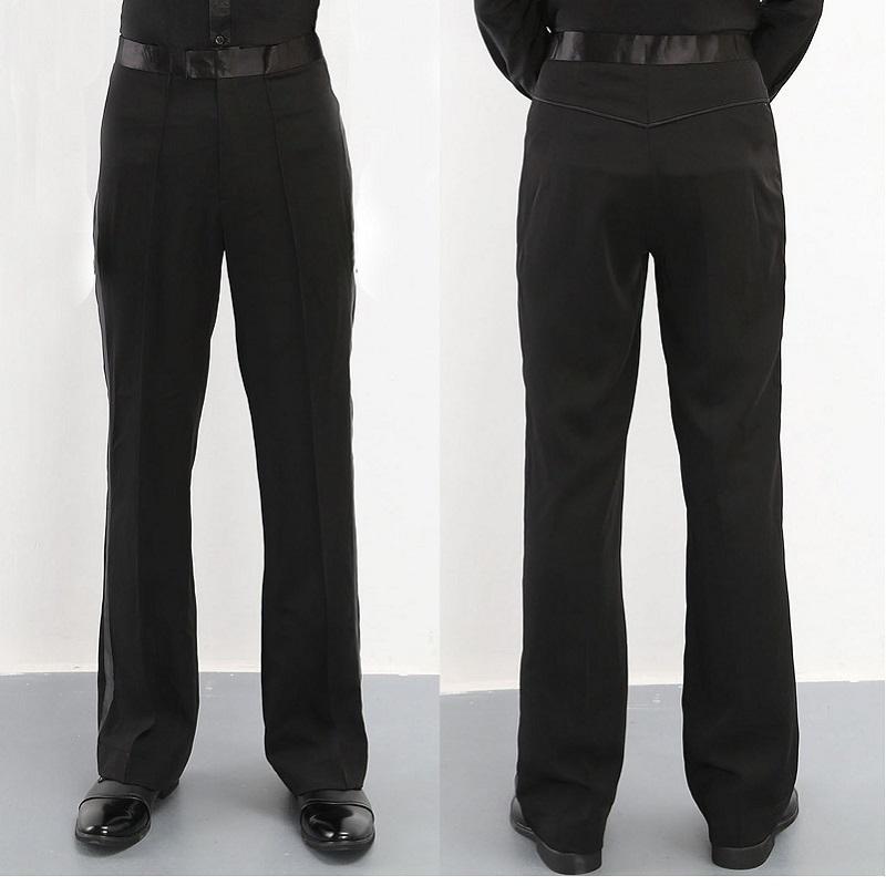 2020 Jungen Latin Dance Pants Shirts Männer Hosen Ballsaal Herren Gesellschaftstanz Hosen für Männer Kostüme Tango Männer Tanzkleidung