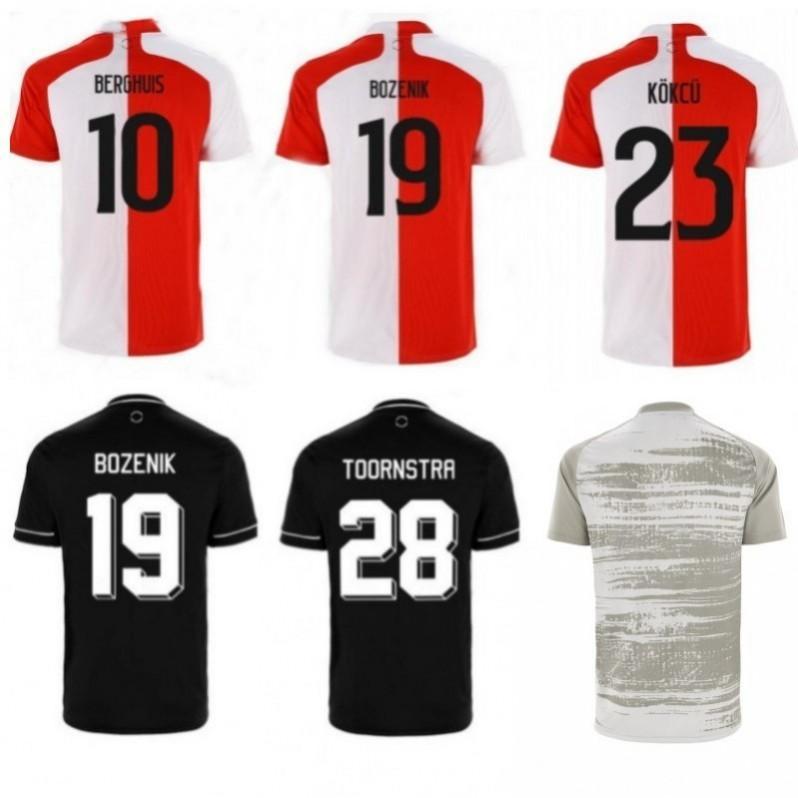 20 21 jerseys Feyenoord SENESI Narsingh camisetas de fútbol VILHENA LARSSON KOKCU FER Rotterdam hogar lejos tapas de entrenamiento de fútbol los niños varones