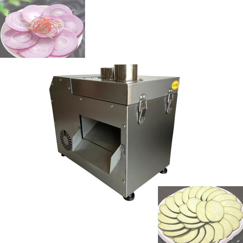 2020 Commercial full-automatic electriconion slicer type Carrot Pepper white radish slicer