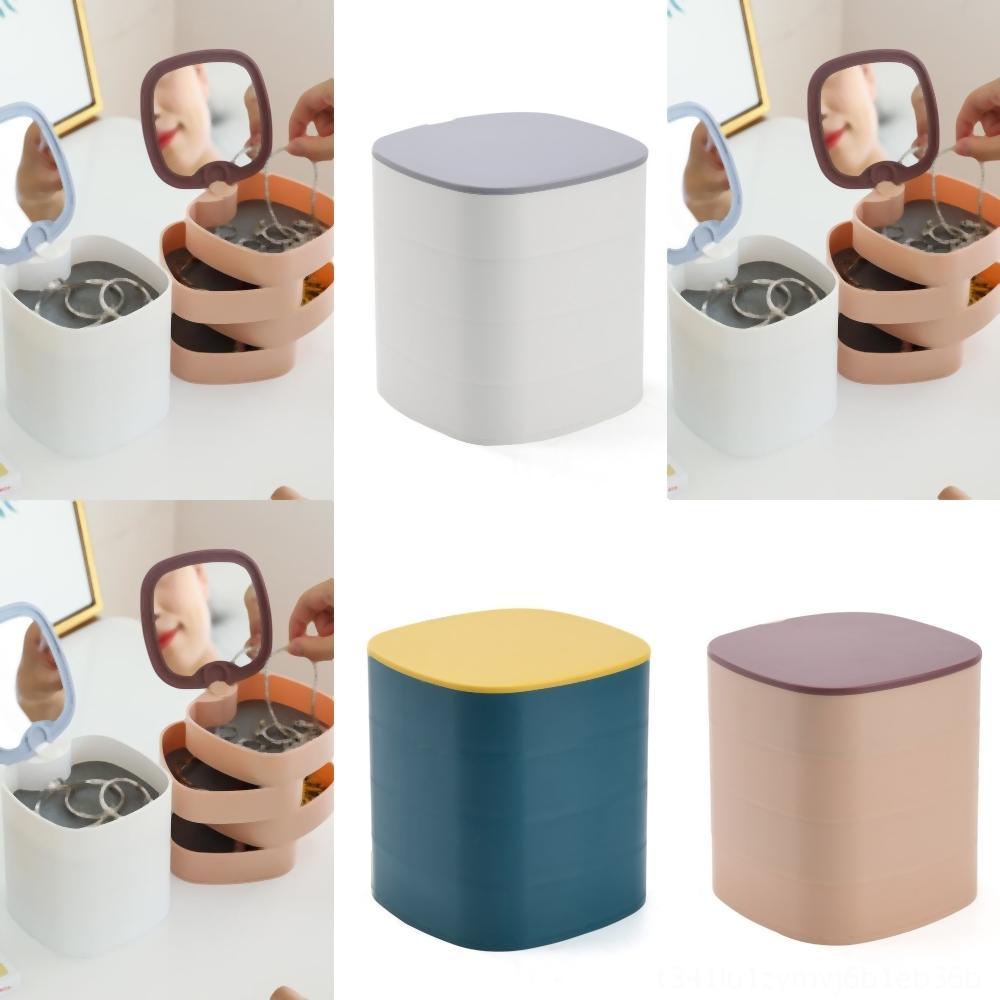 kG4Ku de múltiples capas en formato rectangular con una exquisita comida Set Cajas Herramientas de Spin Box Preservación Mariscos de almacenamiento de Corea de cocina transparente