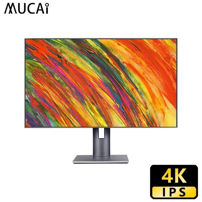 Mucai 32 inch 4K IPS monitor Flat panel desktop lcd display PC computer Professional design Screen HDMI/DP/TYPE-C