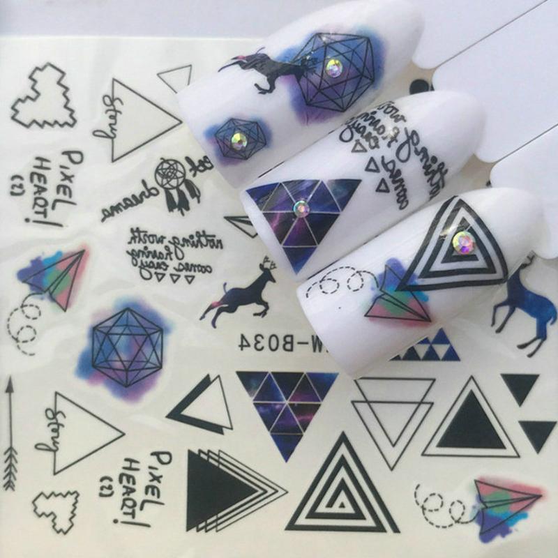 False Nails 1 шт. Продают голубое олень Ногтей Советы для ногтей Природа Clear Finger Full Card Art Дисплей практика акриловый УФ-гель Polishtool Маникюр