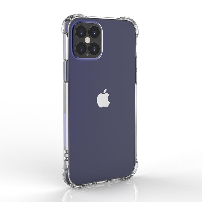 12 Caso X Plus Claro PC trasera dura de acrílico transparente de la caja del teléfono para el iPhone 11 Pro Max XS para Samsung Galaxy S10