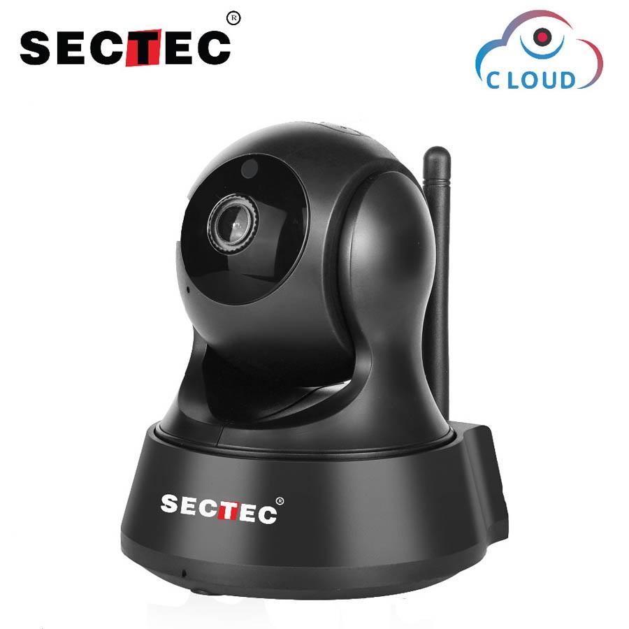 Sectec IP Camera Wifi 1080P Cloud Storage Wireless Home Security Surveillance Camera Noite Baby Monitor Visão