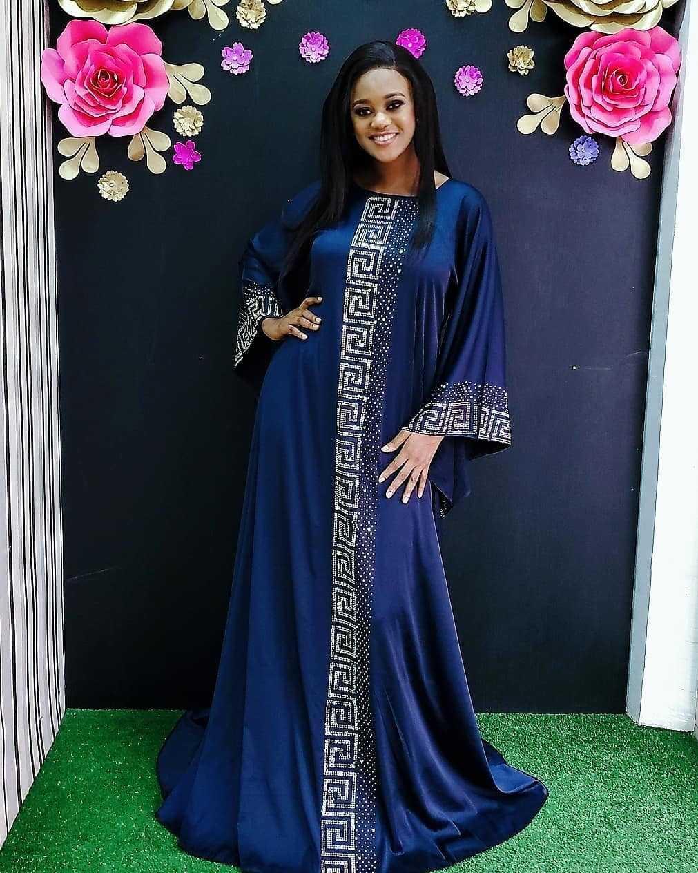 jJj3i étoiles drill femmes de style islamique musulman grande taille robe chaude femmes musulmanes style chaud de diamant de soie, comme Thwdt diamant