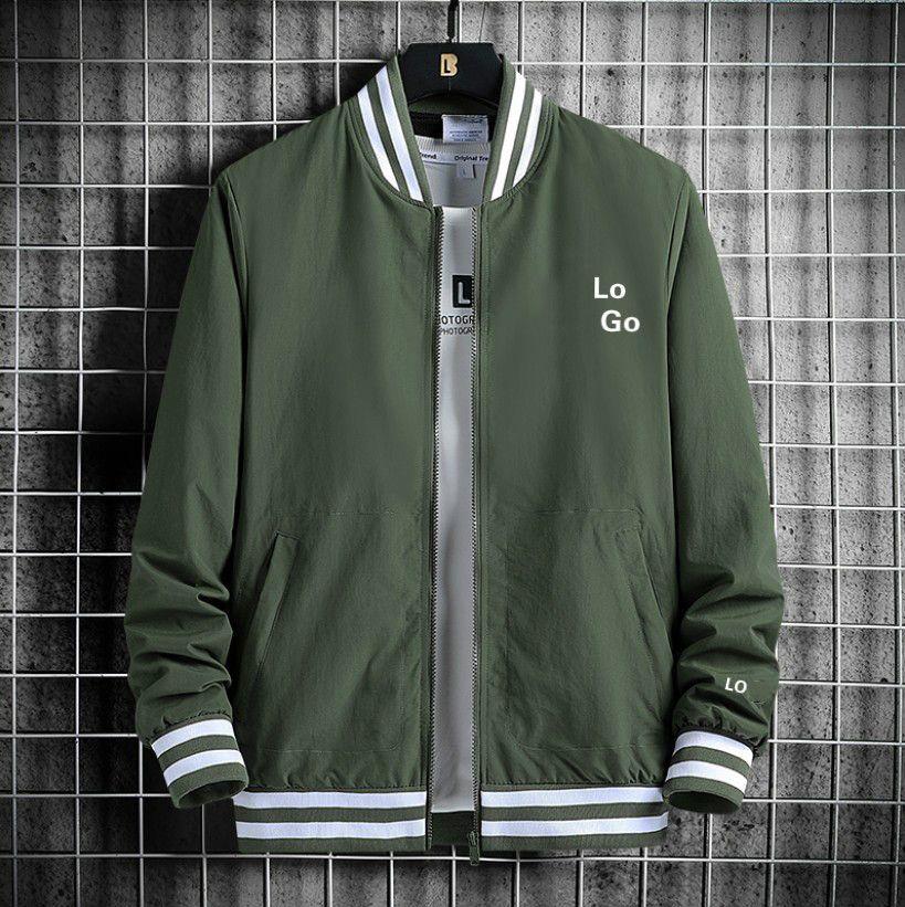 2020 Мужская мода женщин куртки осень Trend New Повседневная Baseball Воротник Высокое качество Спорт Джемпер с длинным рукавом мужчин Размер M-3XL