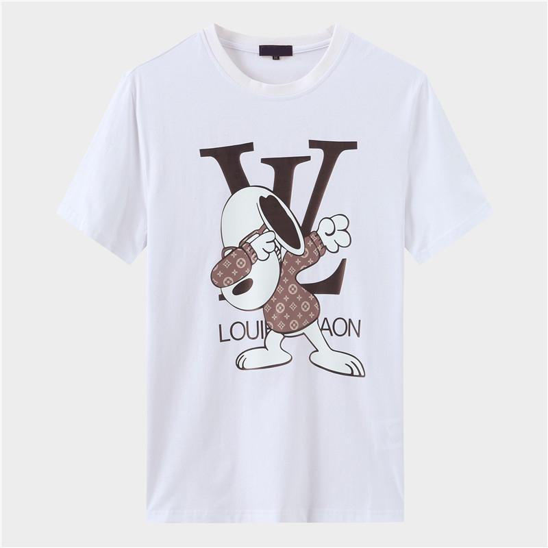 Diseñador París ventiladores T Shirts Ropa para Hombres Mujeres del verano de la letra T casual camisas de algodón de manga corta de la moda de la medusa T Shirts FF