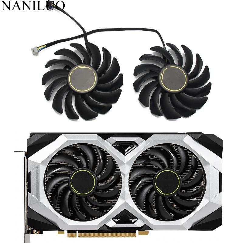 PLD09210S12HH 4Pin ventilador de la tarjeta gráfica RTX2080 RTX2070 Para MSI GEFORCE RTX 2060 2070 2080 Tarjeta gráfica Super VENTUS ventiladores de enfriamiento