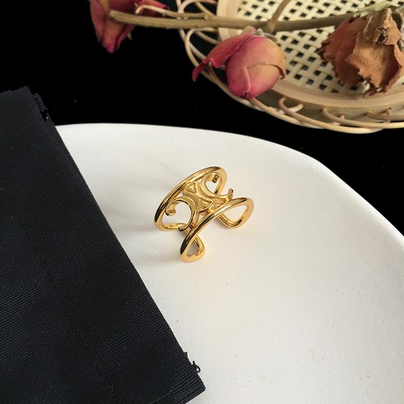 2020 Celebrity blogger with open ring engagement rings for women designer jewelry mens rings gold rings