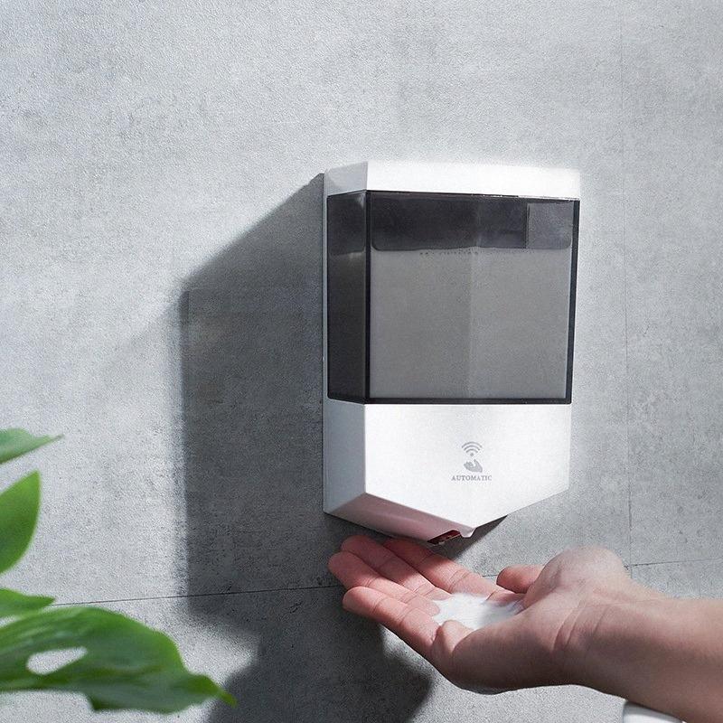 Parete del sensore del sapone liquido Touchless Automatic Soap Dispenser 600ml Dispenser sensore accessori per il bagno CCA12262 12pc xzUk #