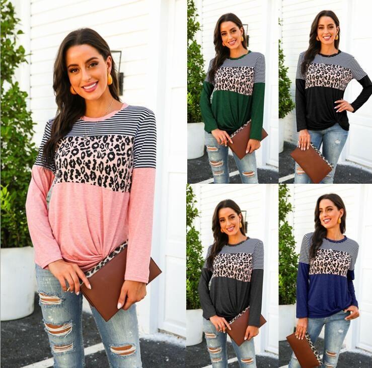 2020 nuove donne di arrivo magliette con i reticoli della Moda Autunno Primavera T-shirt da Lady T casuali Donna Tee Shirt supera il formato S-2XL