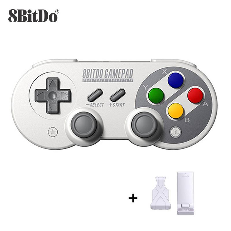 8bitdo SF30 Pro Wireless Bluetooth Gamepad Controller con Joystick per Windows Android Macos Switch Switch