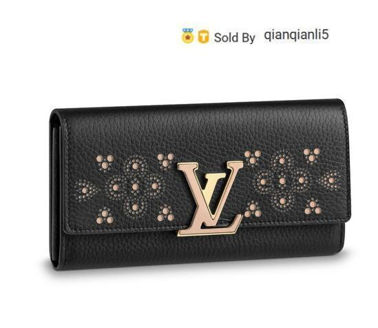qianqianli5 ZNWJ WALLET M62556 NEW WOMEN FASHION SHOWS EXOTIC LEATHER BAGS ICONIC BAGS CLUTCHES EVENING CHAIN WALLETS PURSE