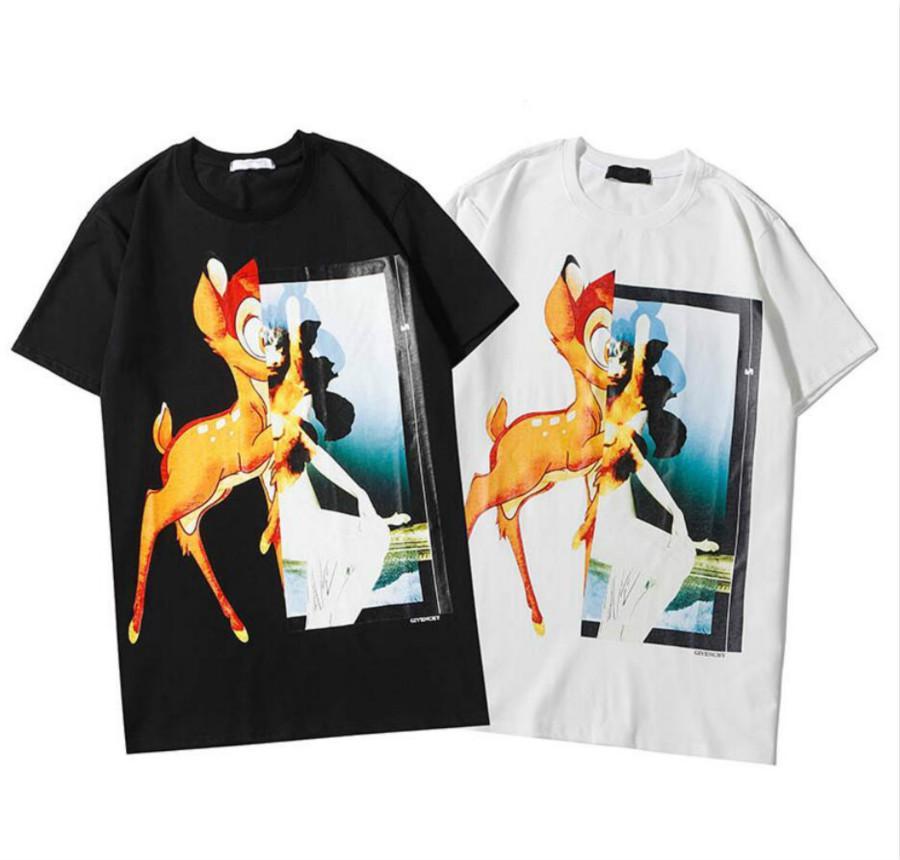 Camiseta de 2020 nuevas mujeres de la manera de las mujeres ocasional del verano Tee Shirts Mujeres con el modelo superior respirable Tees ropa del tamaño S-2XL