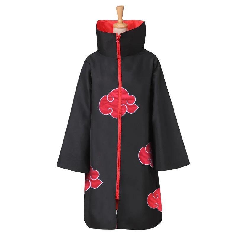 Naruto Akatsuki Cloak Anime Cosplay Costume Halloween Cloak Baby, Kids Maternity Baby Kids Clothing Cosplay Costumes Cosplay
