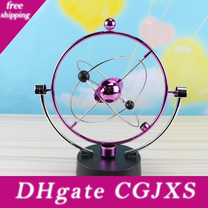 14 Styles Perpetual Motion Sphere Magnetic Nicht -Polares Oscillator Novel Toy Desktop-Dekor-Kind-Kind-Wissenschaft pädagogisches Spielzeug La363
