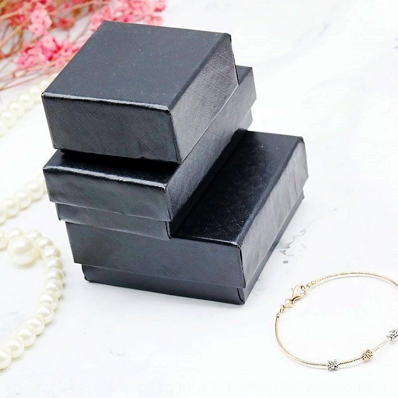 eN9sc Muster Serie Tasche Schmuck Armband Halskette Ring Ohrnagel High-End-Geschenk-Box-Ring Schmuck Verpackungskarton