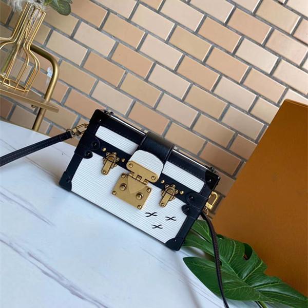 Designer Mode Damen einzelne Schulter Umhängetasche Damen Leder Luxus kleine quadratische Tasche Frauen Retro Umhängetasche freies Verschiffen