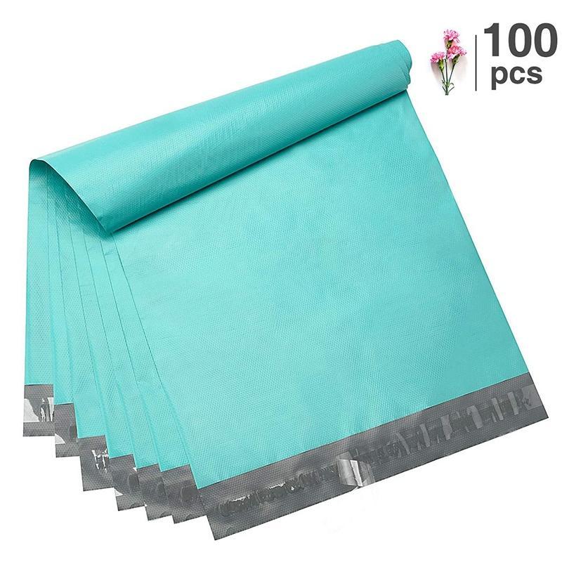 100Pcs Kunststoff Mailers Versandumschläge Self Sealing Umschläge Beutel Haltbarkeit Mehrzweckkuriertasche Halten Artikel Sicher