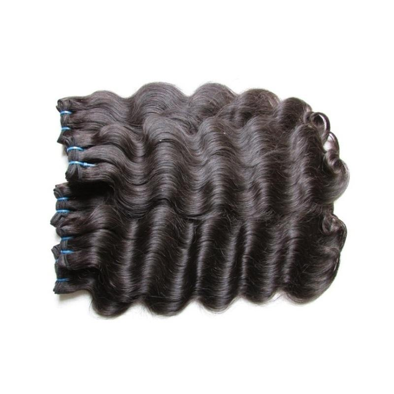 DHgate Raw Unprocessed Brazilian Body Wave Virgin Remy Human Hair Bundles 5Pieces 500g Lot Cuticle Aligned Hair From One Donor Natural Color