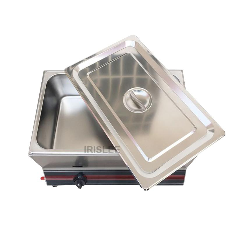 Commercial Deep Fryer Machine Electric Dual Deep Fryer Oven Stainless Steel Oil Fryer with Thermostat Baskets