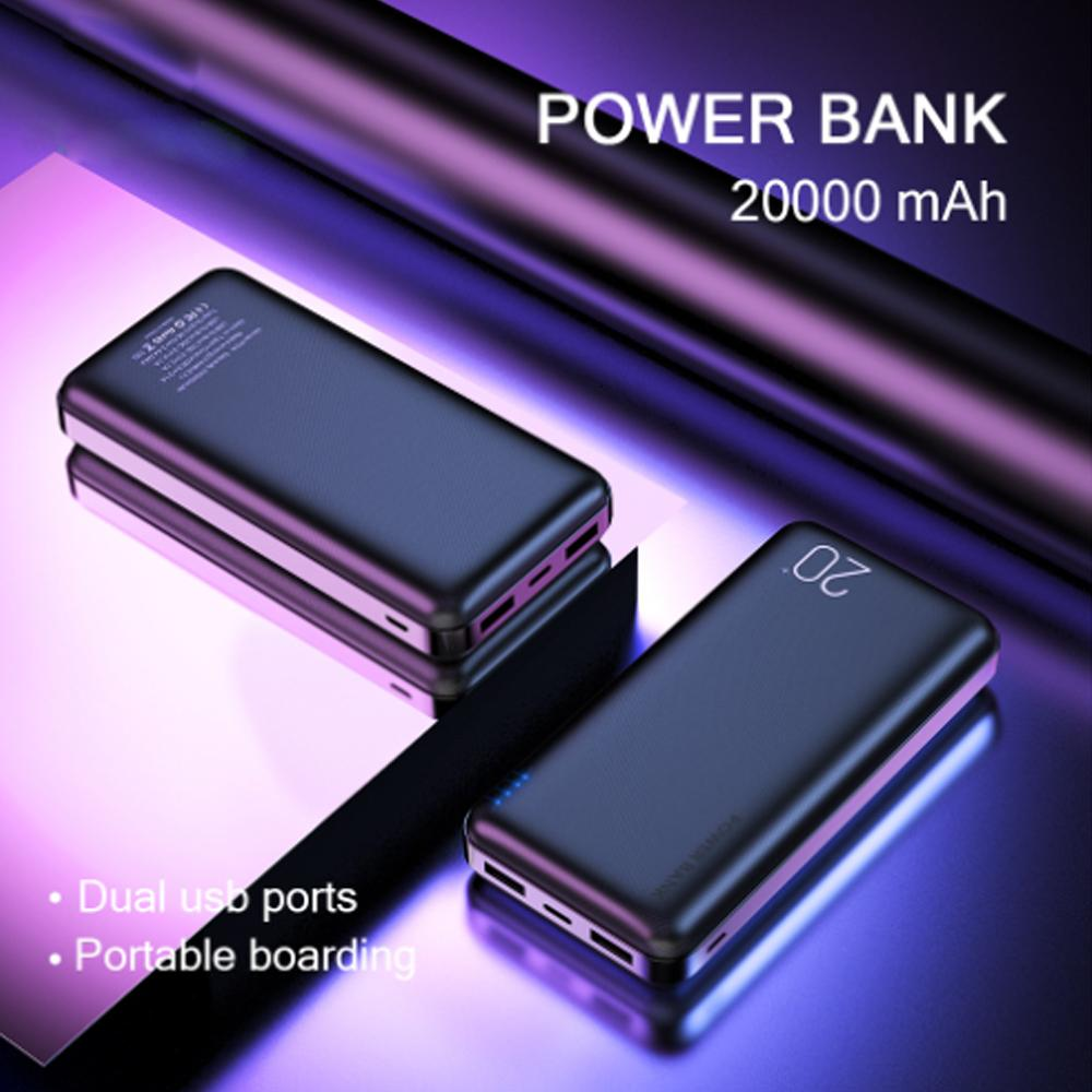 Best Power Banks 2021 2020 2021 NEW MINI Power Bank 20000mAh Portable Charging External